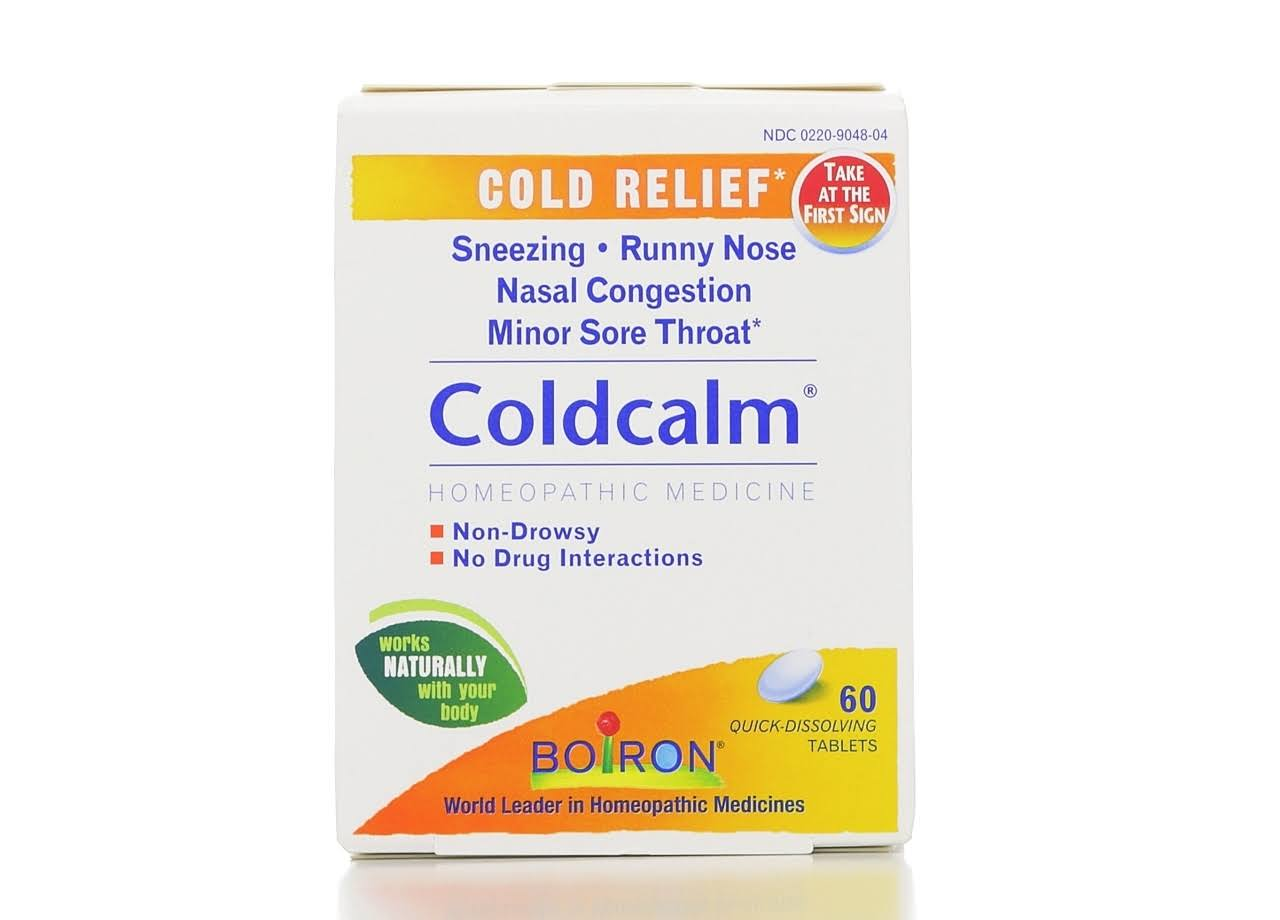 Boiron Coldcalm Homeopathic Medicine - 60ct