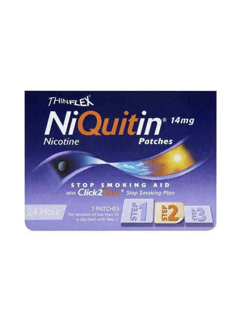 Niquitin CQ 14mg (Step 2) Patch 7 Patches