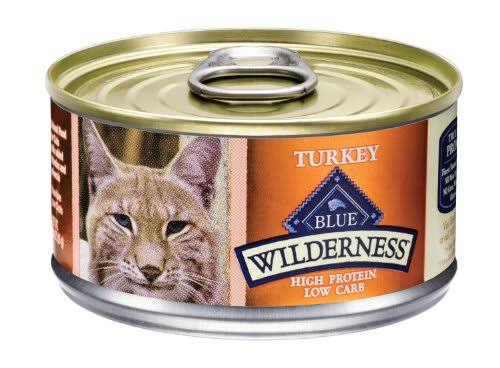 Blue Buffalo Wilderness Grain Free Canned Cat Food - Turkey Recipe, 3oz