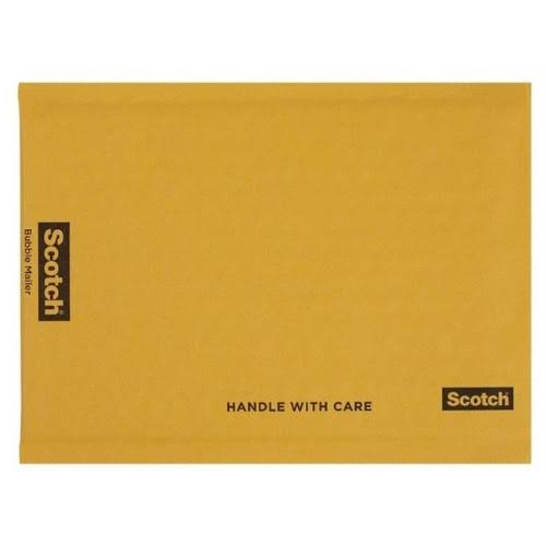 "3M Scotch Bubble Mailer - 8.5"" x 11"", 6pk"