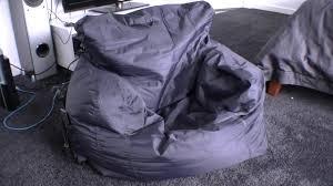 Big Joe Zip Modular Sofa by Best Bean Bag Chair Big Joe Bean Bag Review Comfort Youtube