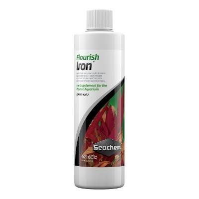 Seachem Flourish Iron Aquarium Fish Water Plant Fertilser Conditioner - 250ml
