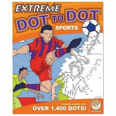MindWare Extreme Dot to Dot Sports Puzzle