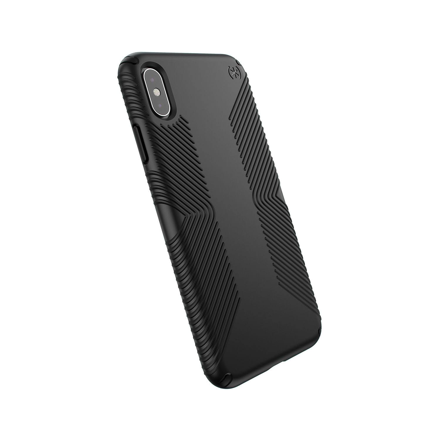 Speck Presidio Grip Cover for iPhone XS Max - Black