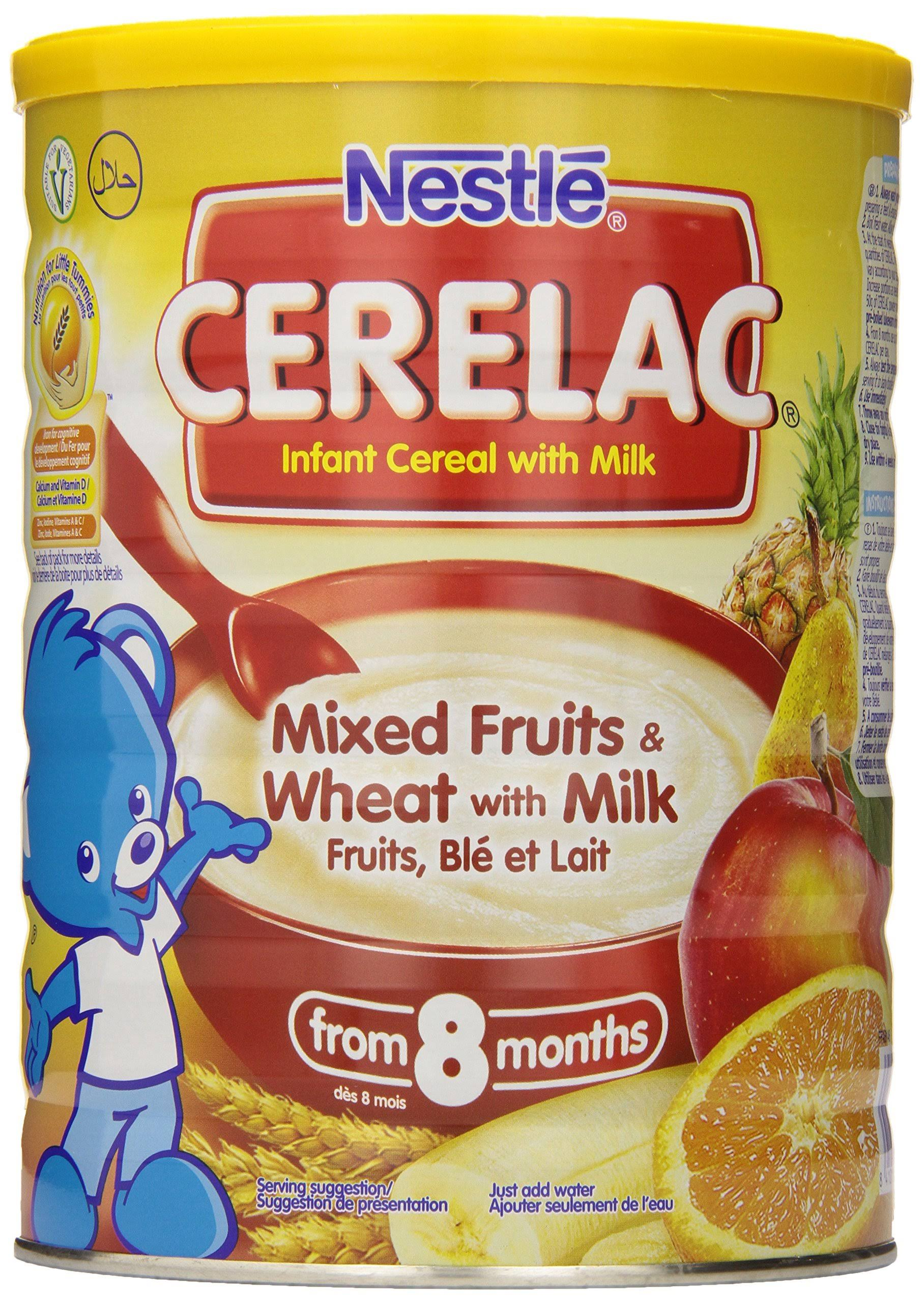 Nestle Cerelac Mixed Fruits and Wheat with Milk Infant Cereal - 1kg, 8 Months+