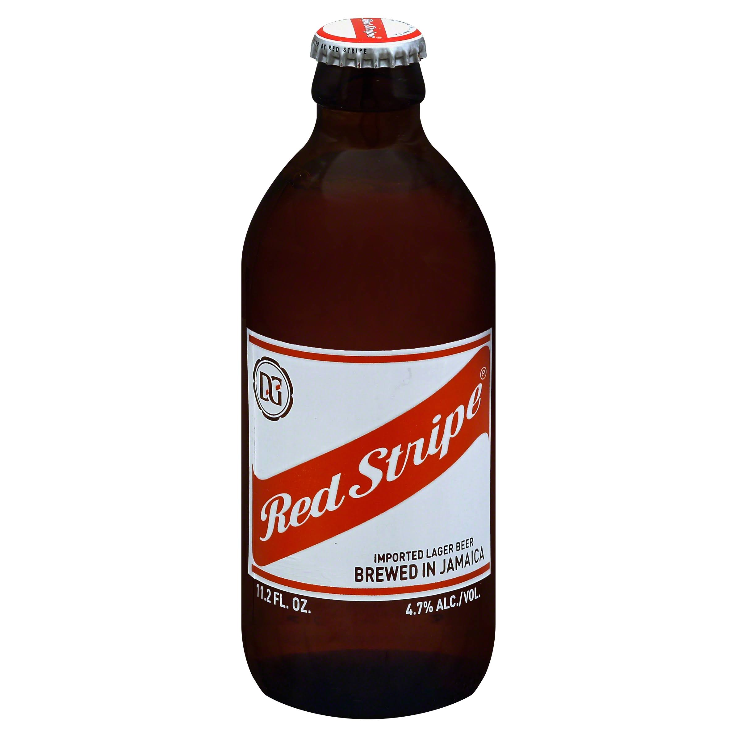 Red Stripe Beer, Imported Lager - 11.2 fl oz