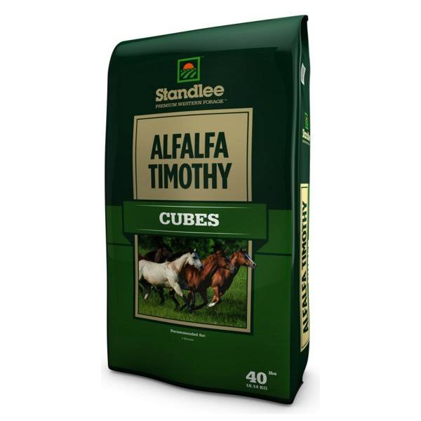 Standlee Hay Company Alfalfa Timothy Cubes