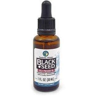 Amazing Herbs Black Seed Cold Pressed Oil - 30ml