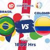 Las estadísticas del juego Brasil vs. Colombia