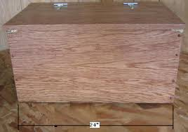 Build Wooden Toy Chest by Free Toy Box Plans How To Build A Wooden Toy Box