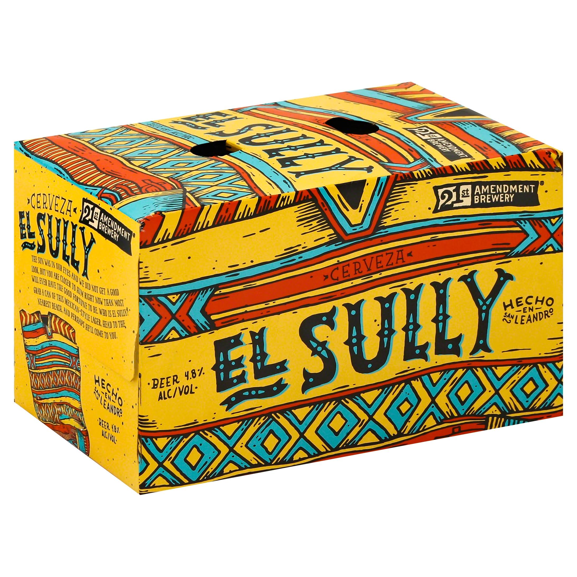 21st Amendment Brewery Beer, El Sully - 6 pack, 12 oz cans