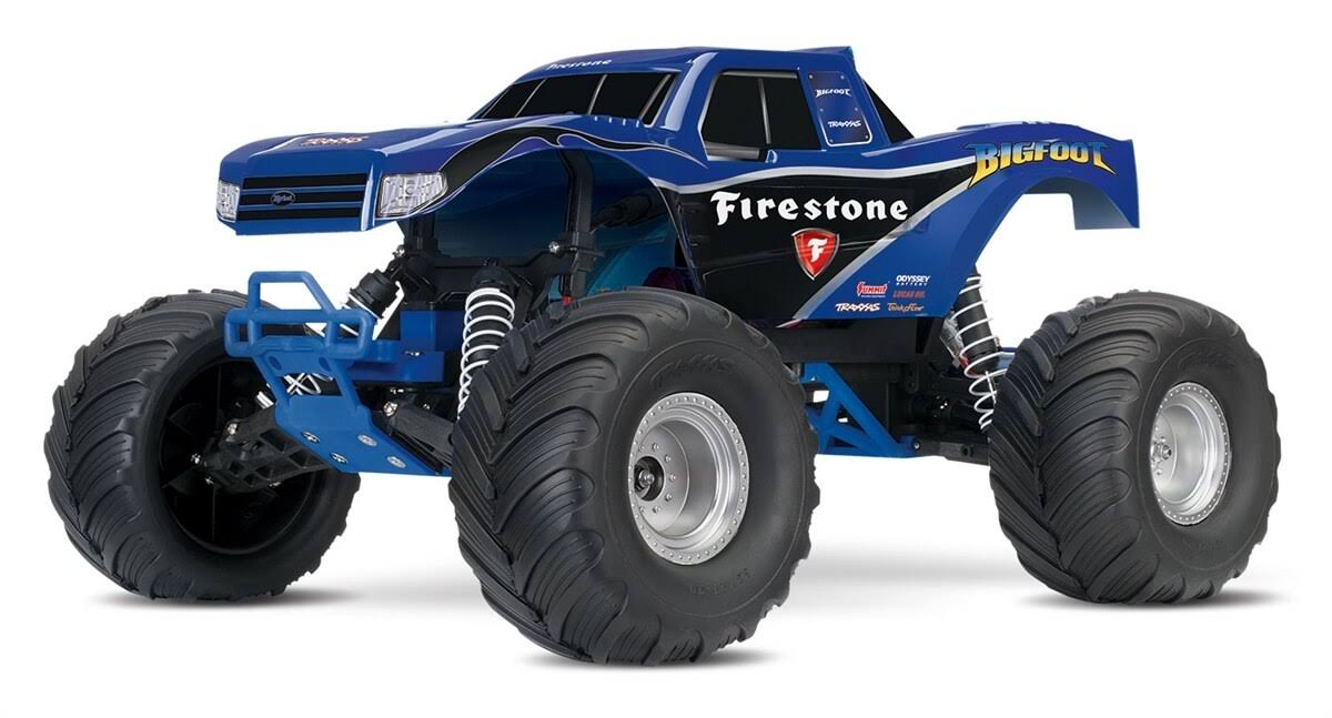 Traxxas Bigfoot the Original Monster Truck - Firestone Blue