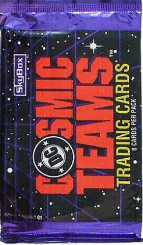 Cosmic Teams Trading Cards Booster Pack