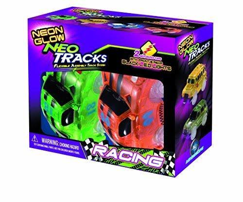 Mindscope Neon Glow Racing Neo Cars - x2