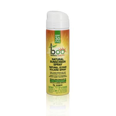 Boo Bamboo SPF 30 Adult Sunscreen Mini Spray