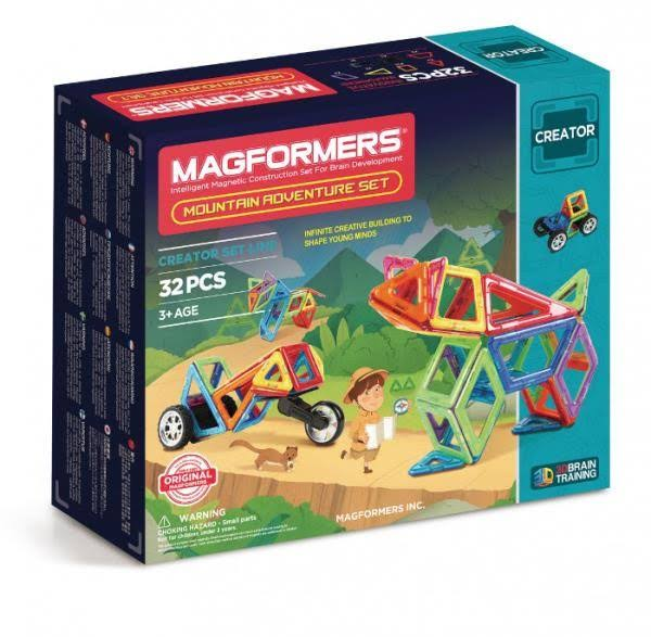 Magformers Adventure Mountain Set - 32 Pieces