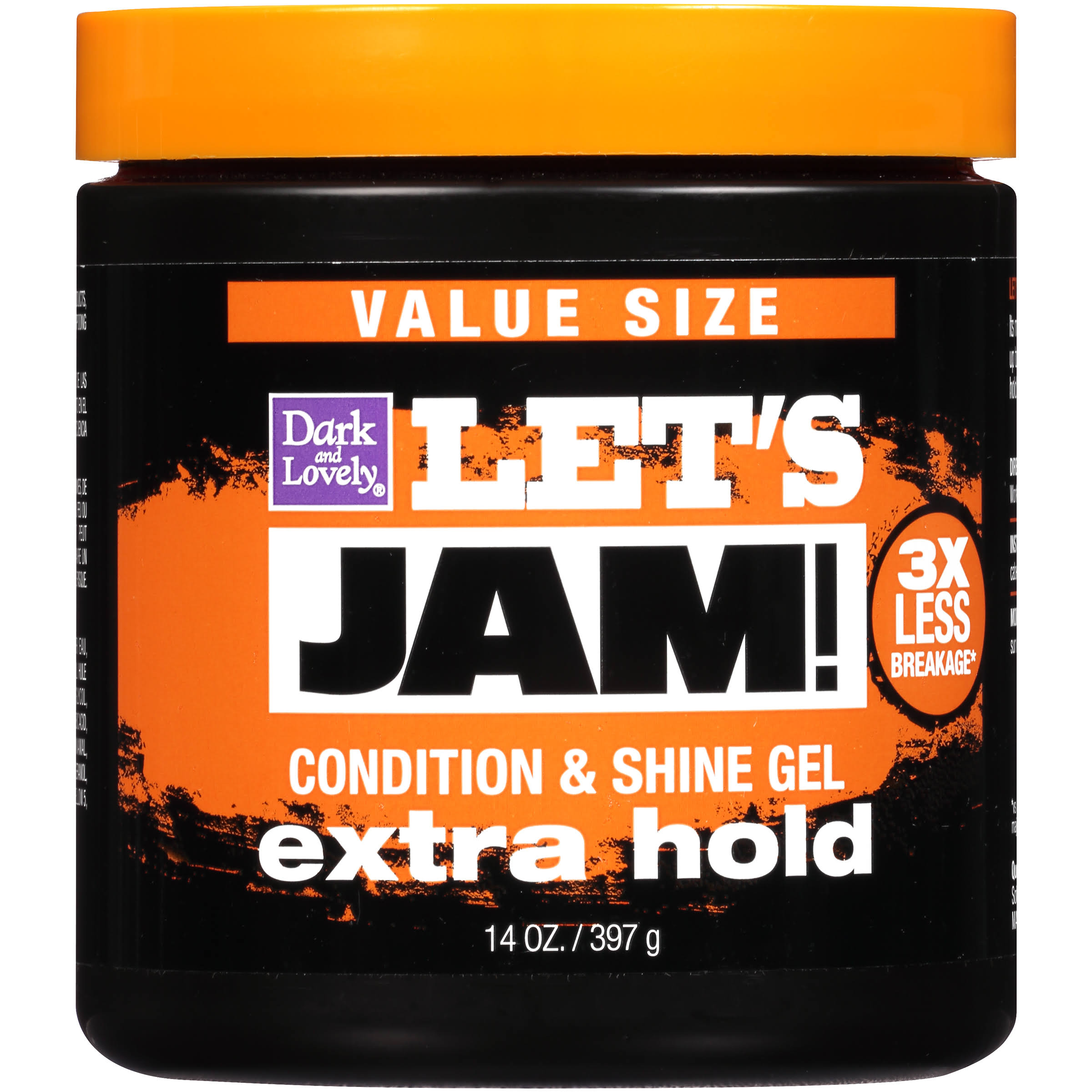 SoftSheen-Carson Let's Jam Shining And Conditioning Gel - Extra Hold, 396g