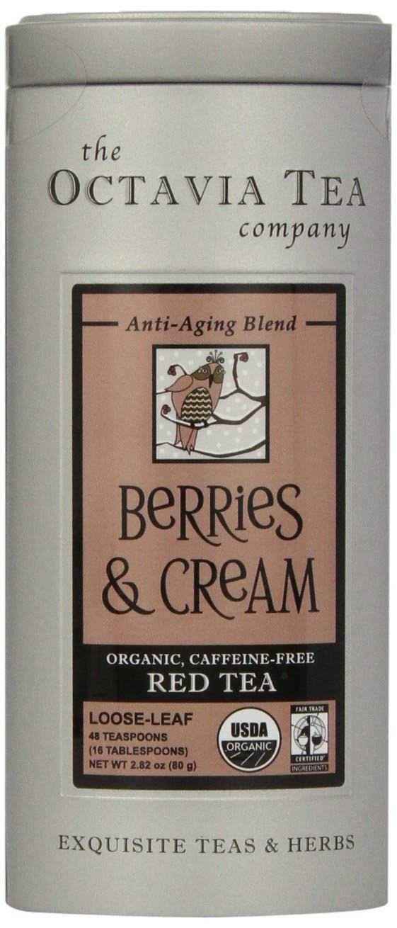 Octavia Tea Berries And Cream Tea - 2.82 oz canister