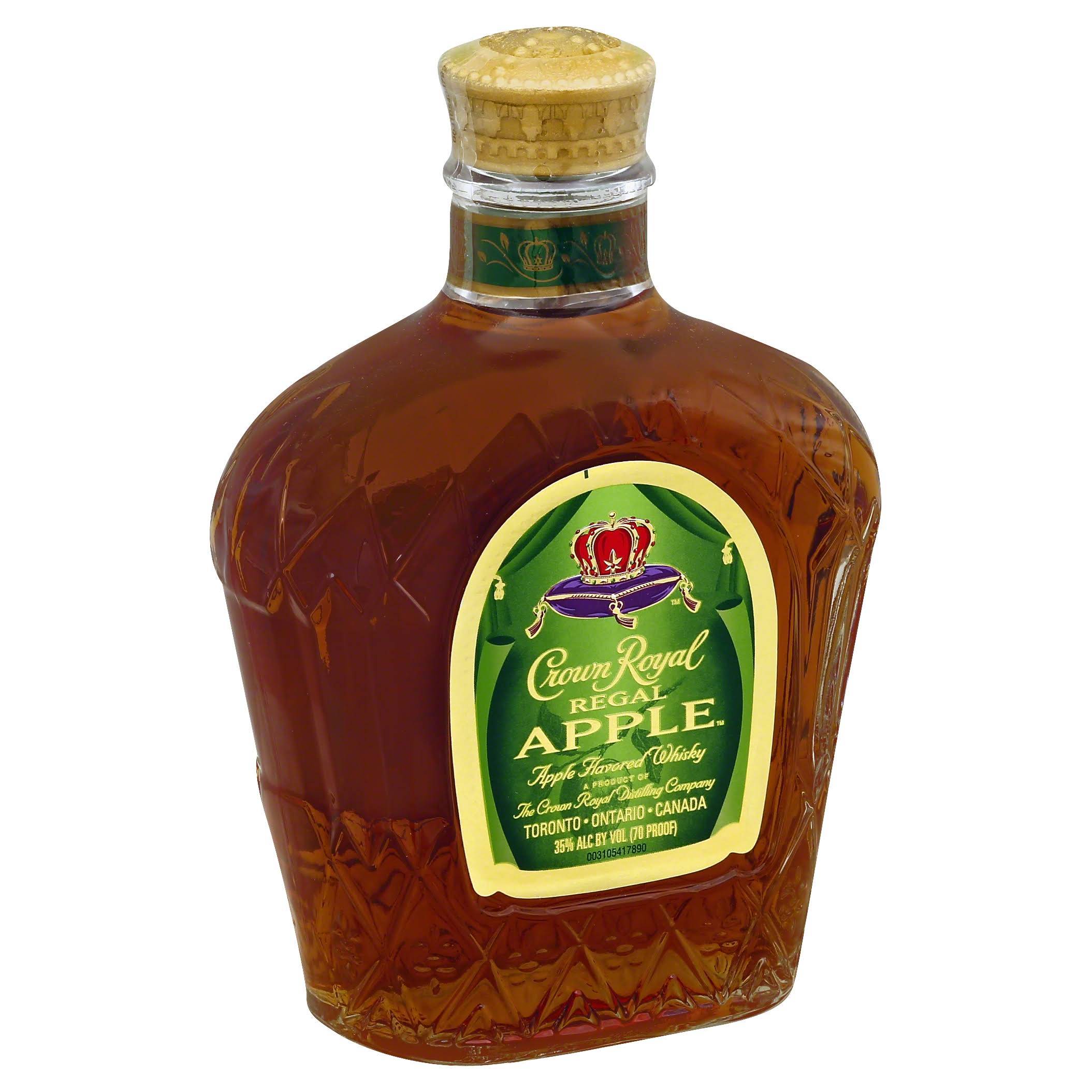 Crown Royal Whisky, Regal Apple - 375 ml