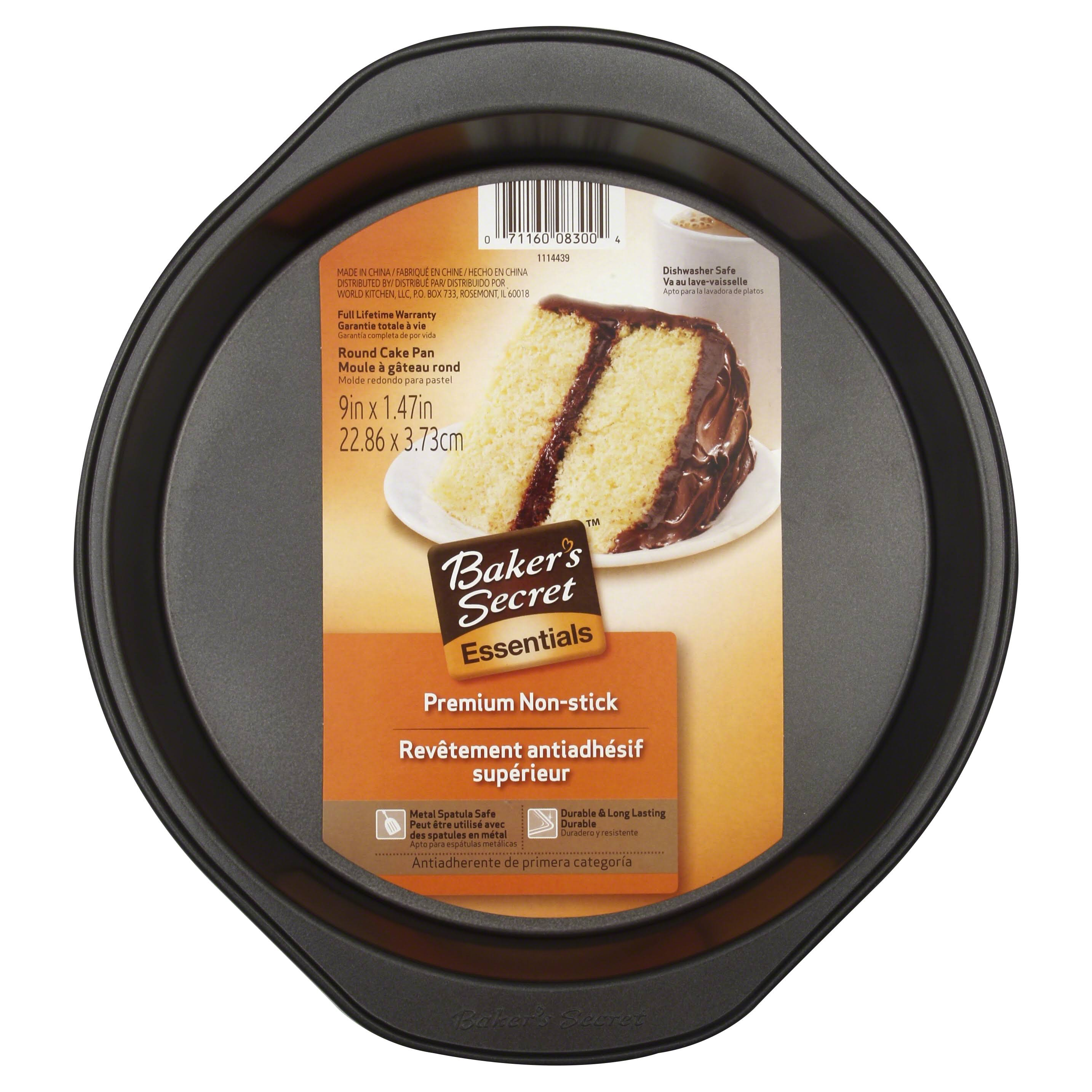 Baker's Secret Essentials Round Cake Pan