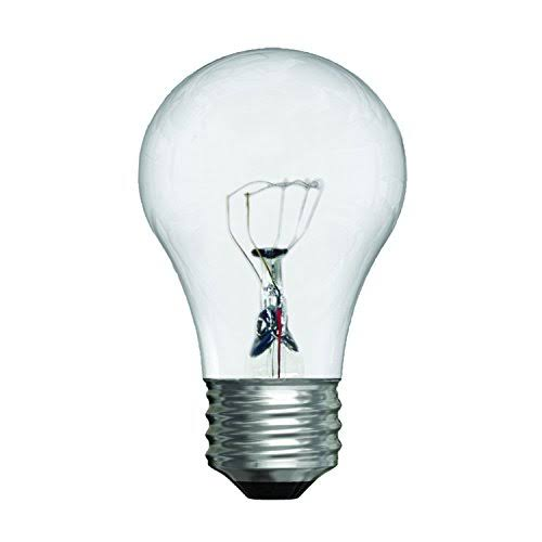 GE Light Bulb, Crystal Clear, 40 Watts
