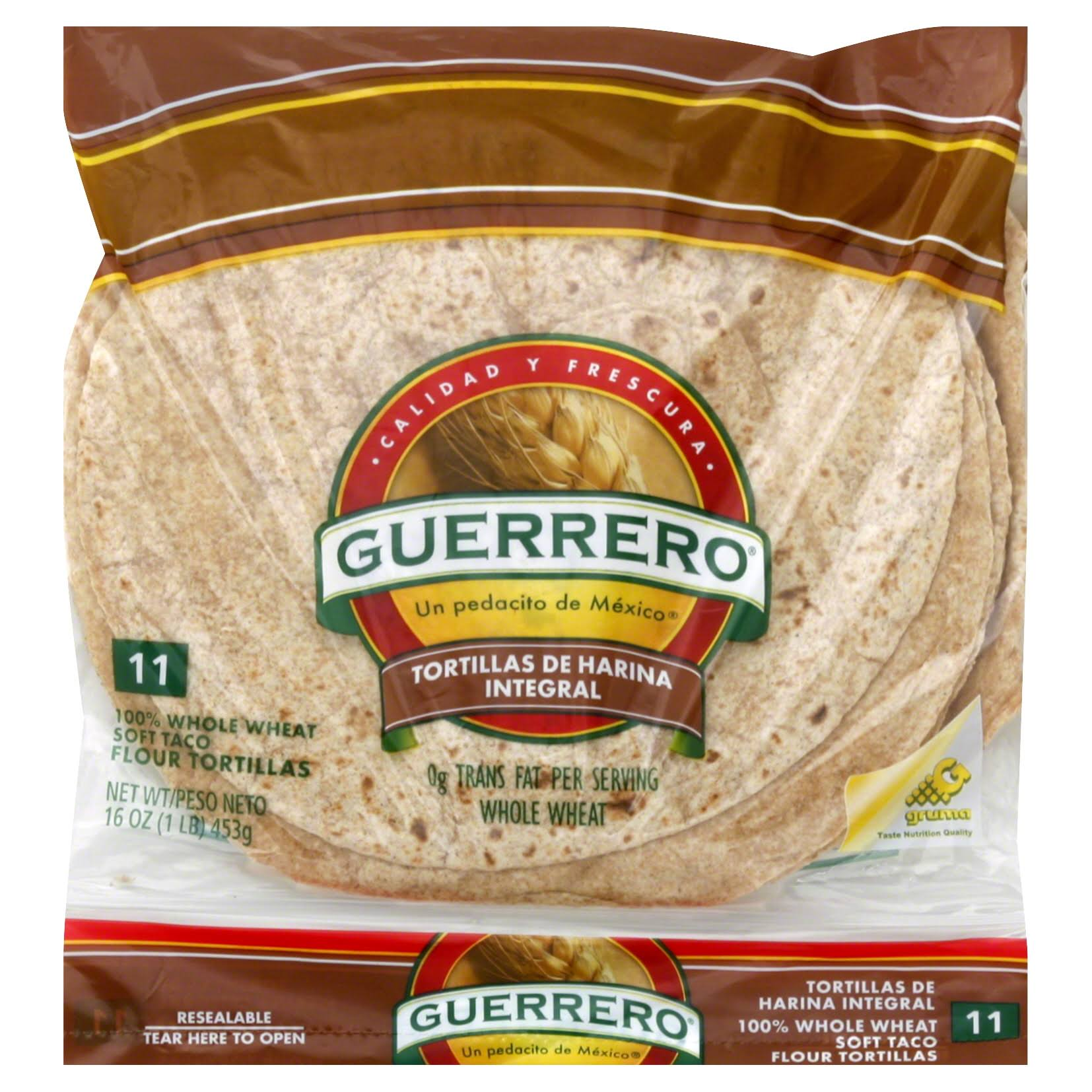 Guerrero Whole Wheat Tortillas - x11