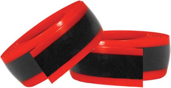 "Mr. Tuffy Tire Liner - Red, 700 x 28-32, 27"" x 1-1/4"", Pair"