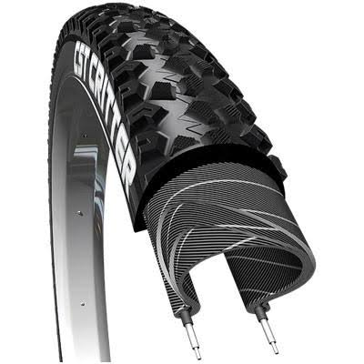 "CST Critter Tire - Wire Bead, 29 x 2.10"", Black"
