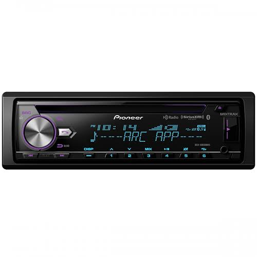 Pioneer Car Audio CD Receiver - with Bluetooth and USB