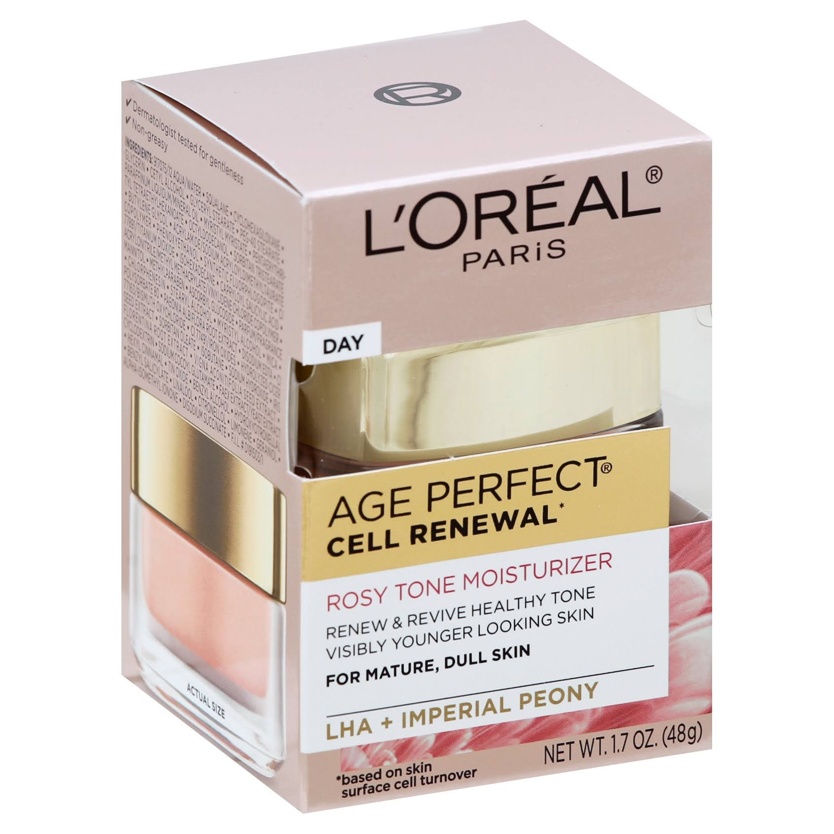 L'Oreal Paris Skin Care Age Perfect Cell Renewal Rosy Tone Moisturizer - 1.7oz