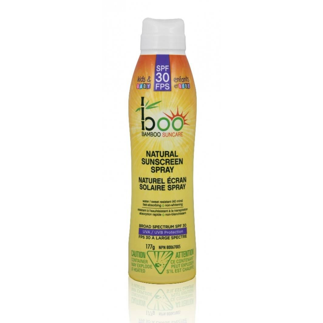 Boo Bamboo SPF 30 Baby Sunscreen Spray