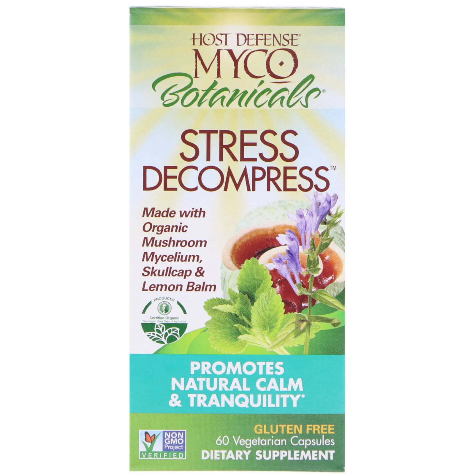Host Defense Organic Mushrooms Dietary Supplement