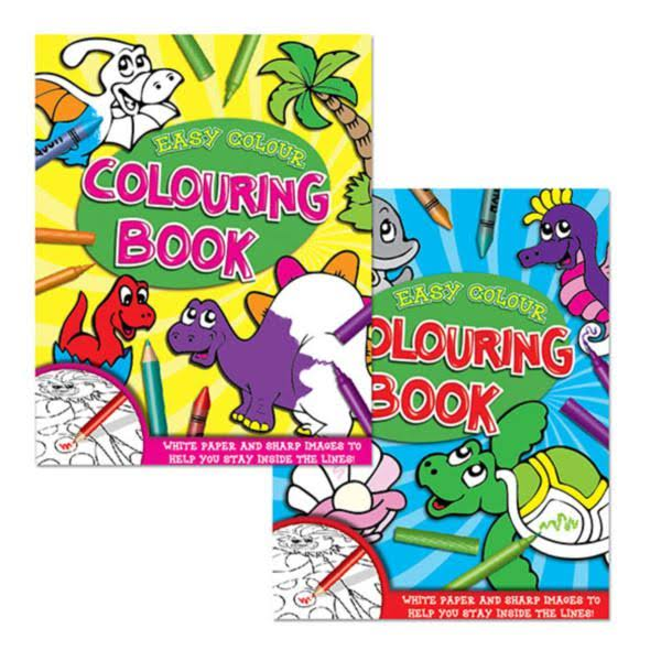 Tallon Easy Colour Childrens Colouring Book