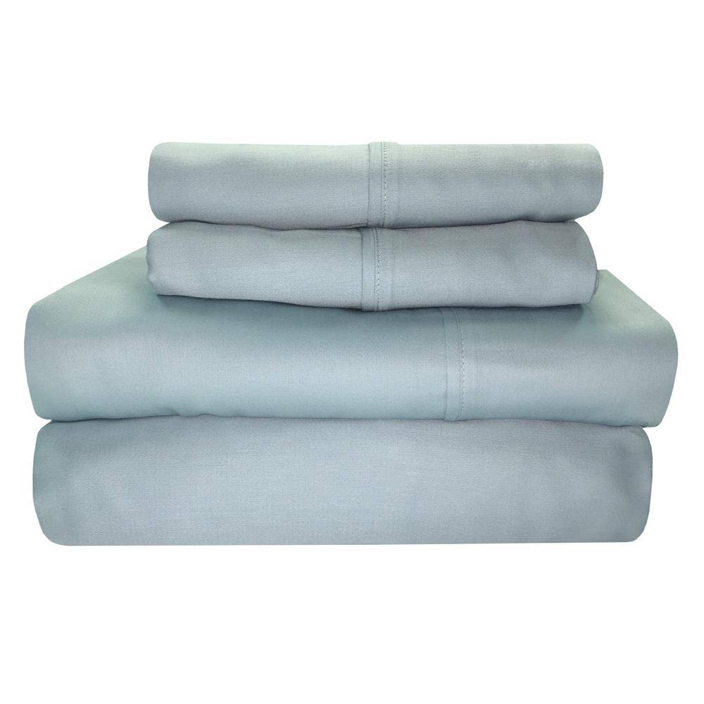 Sttelli Siesta Bed Sheet Set Periwinkle, Queen