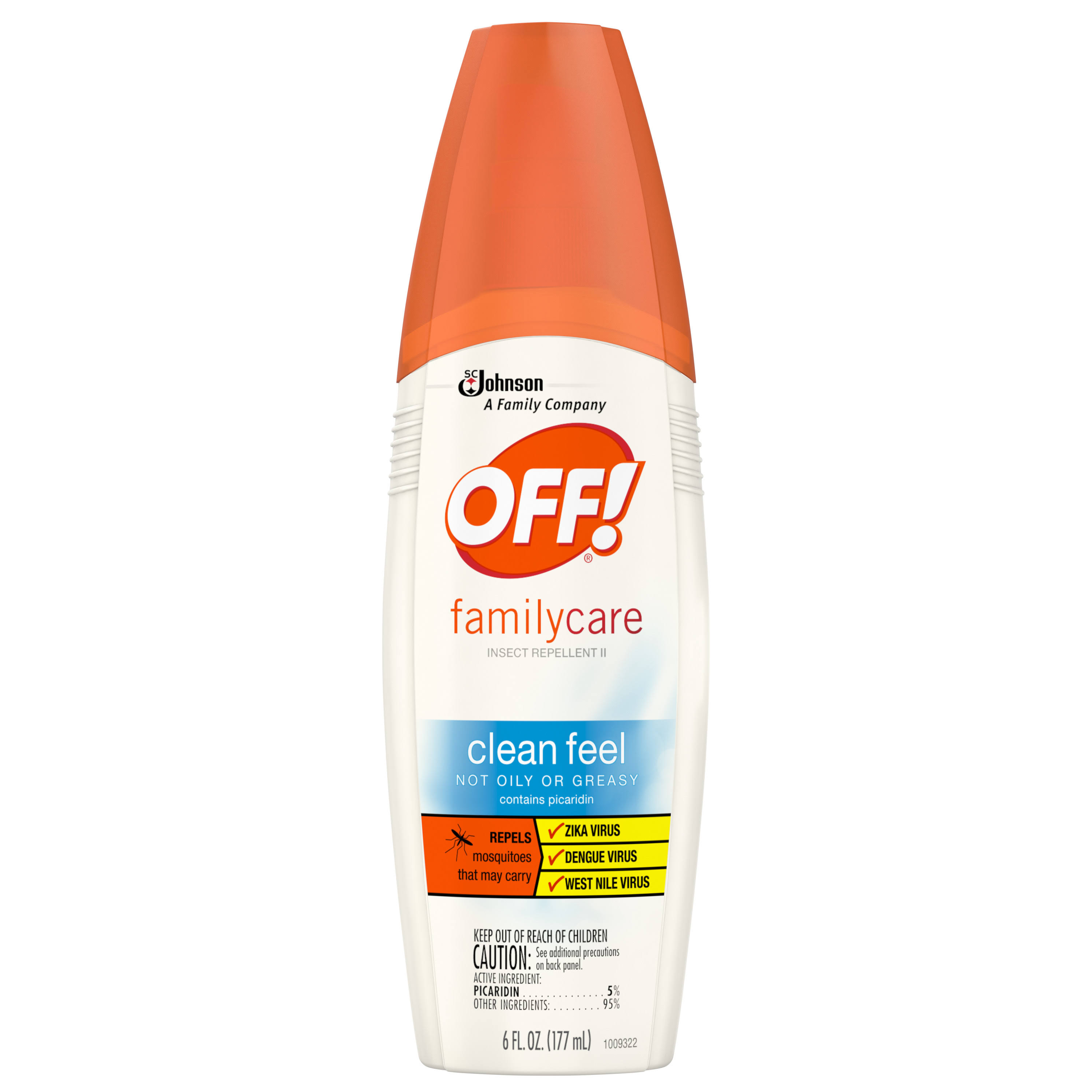 Off Family Care Mosquito Repellent Spray - 107ml