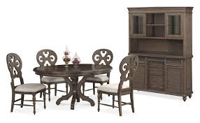 Value City Kitchen Table Sets by The Charleston Round Dining Collection Value City Furniture