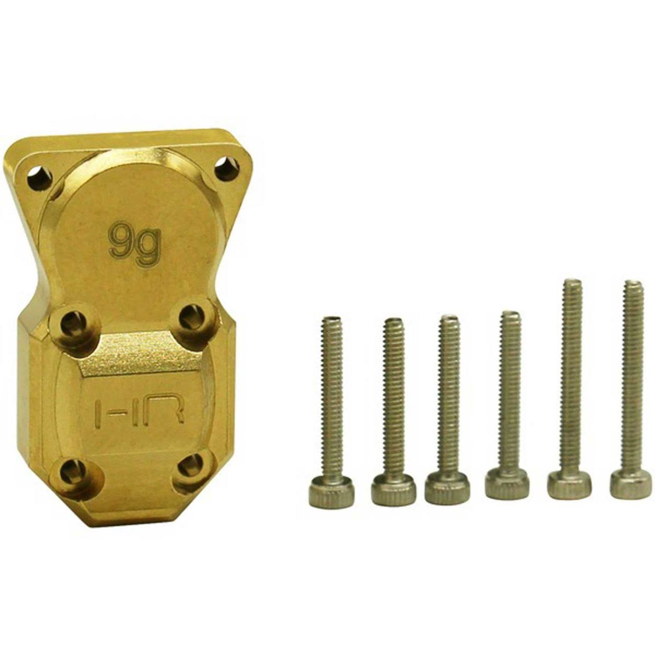Hot Racing SXTF12CH - 9g Brass Diff Cover SCX24