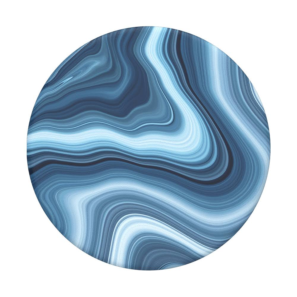 Popsockets Grip Collapsible Grip and Stand - Oceanic Agate