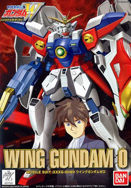 Bandai Hobby WF-09 Wing Gundam W-Series Action Figure Model Kit - 1:144 Scale