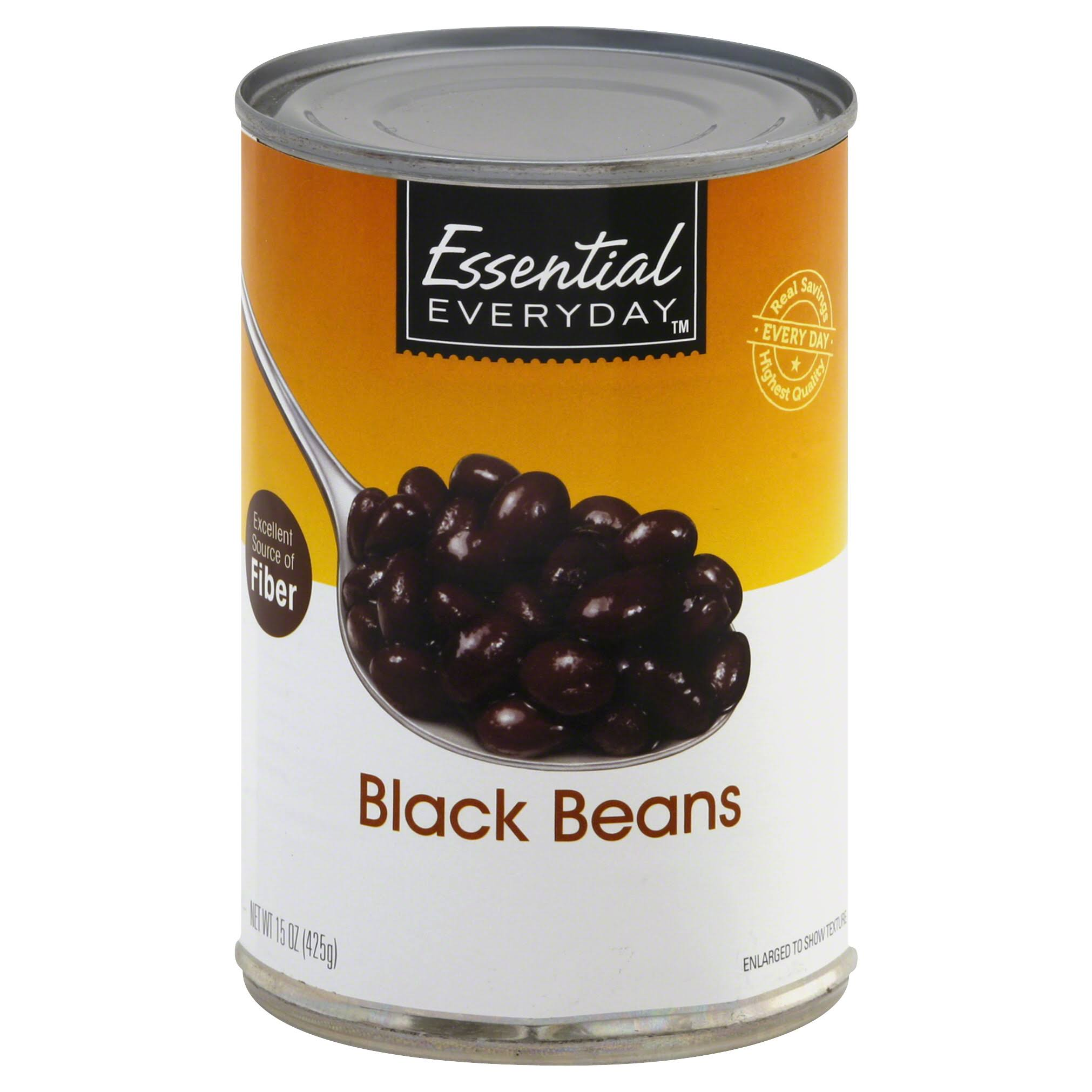 Essential Everyday Black Beans - 15 oz