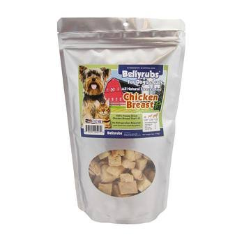 Bellyrubs Freeze-Dried Chicken Breast Pet Treats - 4oz. Bag