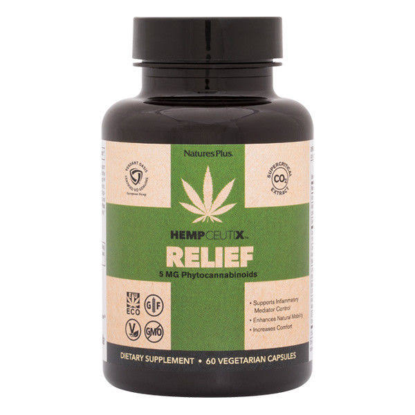 Nature's Plus Hempceutix Relief 60 Veggie Caps