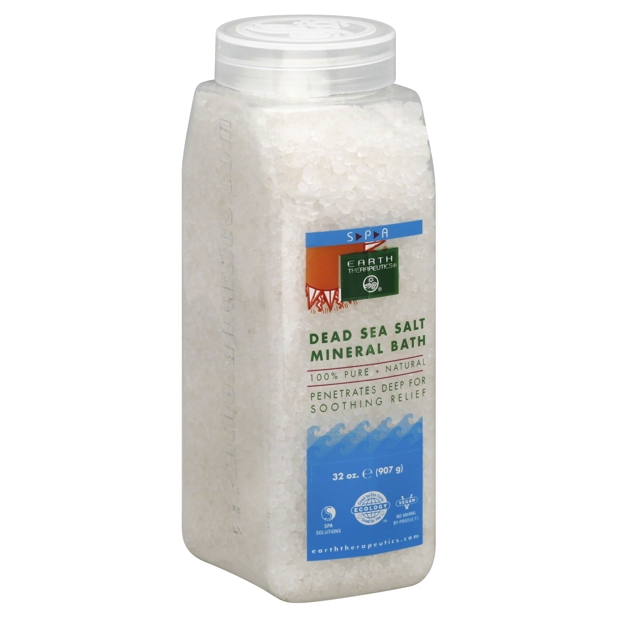 Earth Therapeutics Dead Sea Salt Mineral Bath - 907g