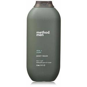 Method Men's Body Wash - Sea and Surf, 18oz
