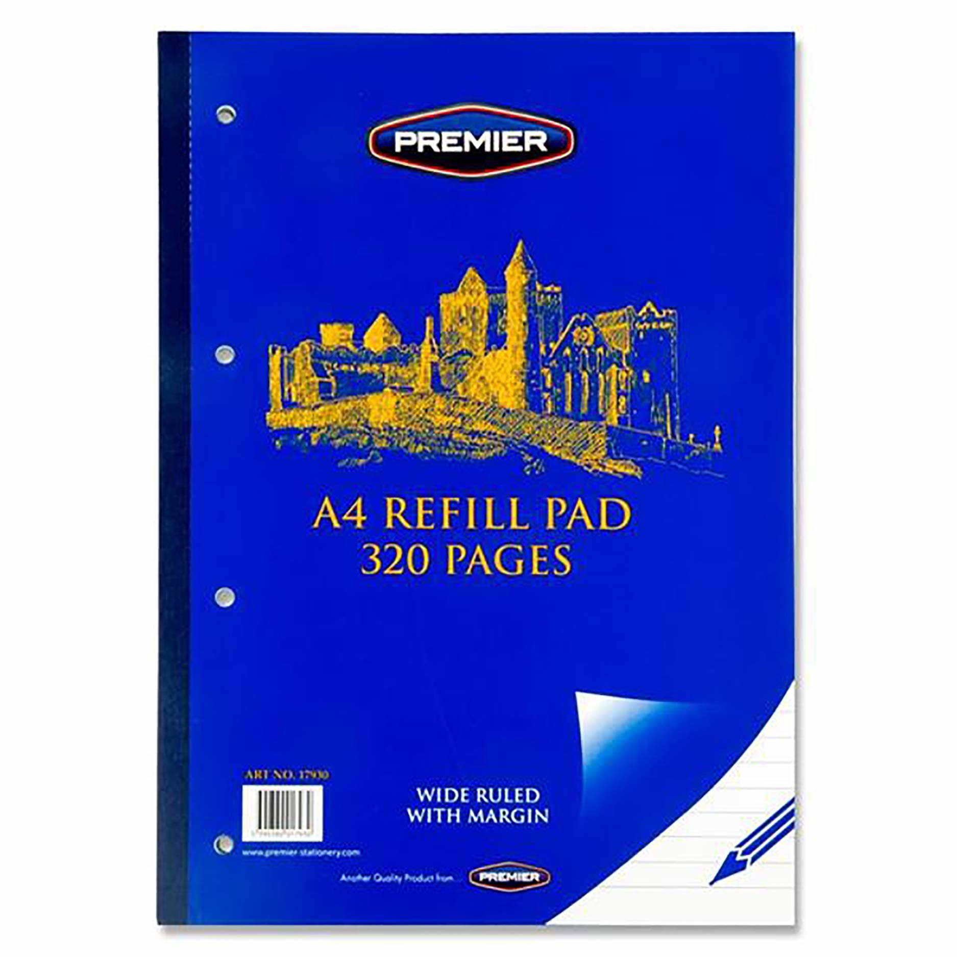 Premier A4 320-Page Refill Pad