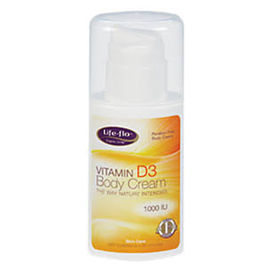 Life-Flo Health Care Vitamin D3 Body Cream - 4oz