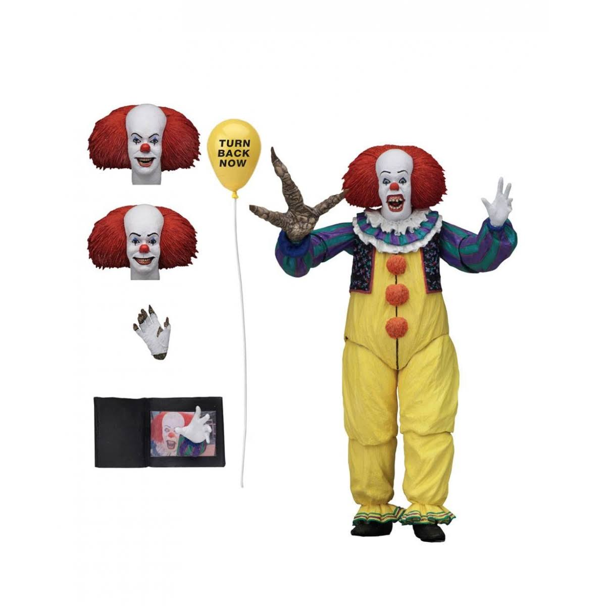 It Ultimate Version 2 Pennywise 1990 7-Inch Action Figure