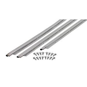 "M-D Building Products 1073 Weatherstrip Jamb Up - 36"" x 84"", with Screws, Aluminum"