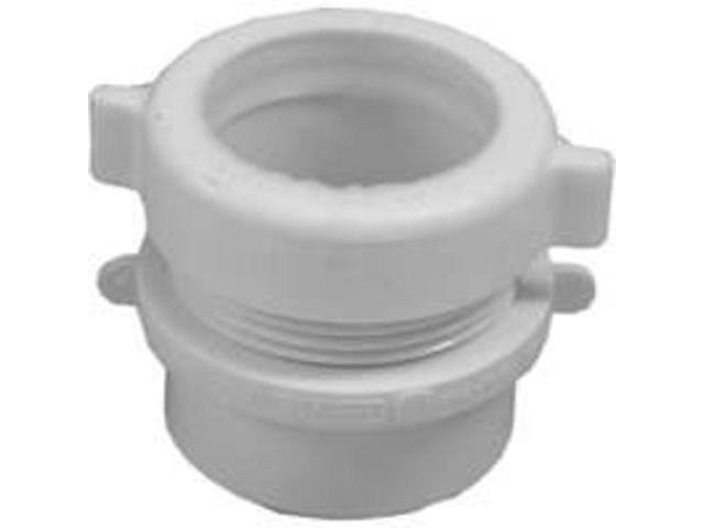 "Genova Fitting Trap Adapter - White, 1.5""x1.5"""