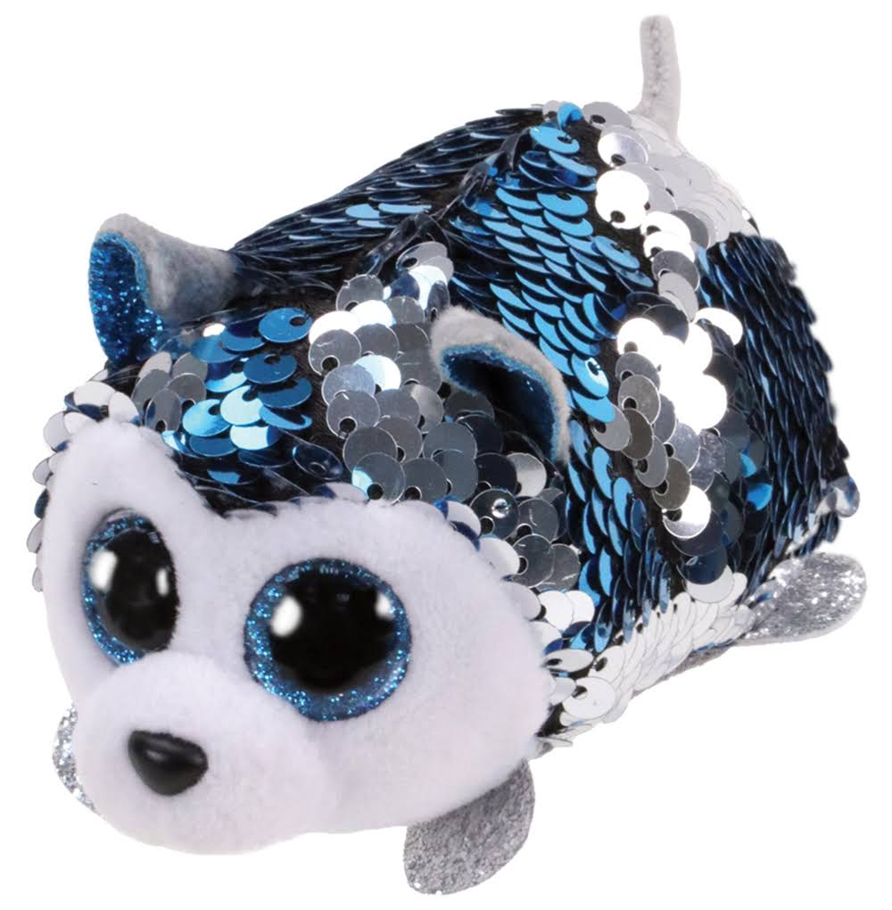 TY Teeny Flippable Slush The Husky Plush Toy - 4.5""